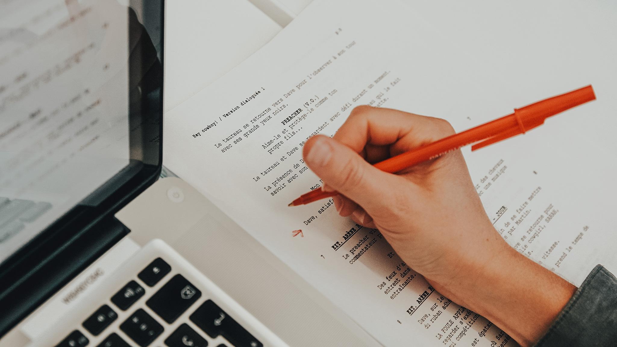 Introduction à la scénarisation d'une websérie