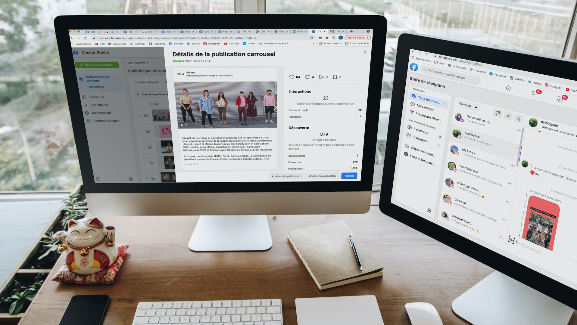 Marketing rentable et efficace sur Facebook et Instagram