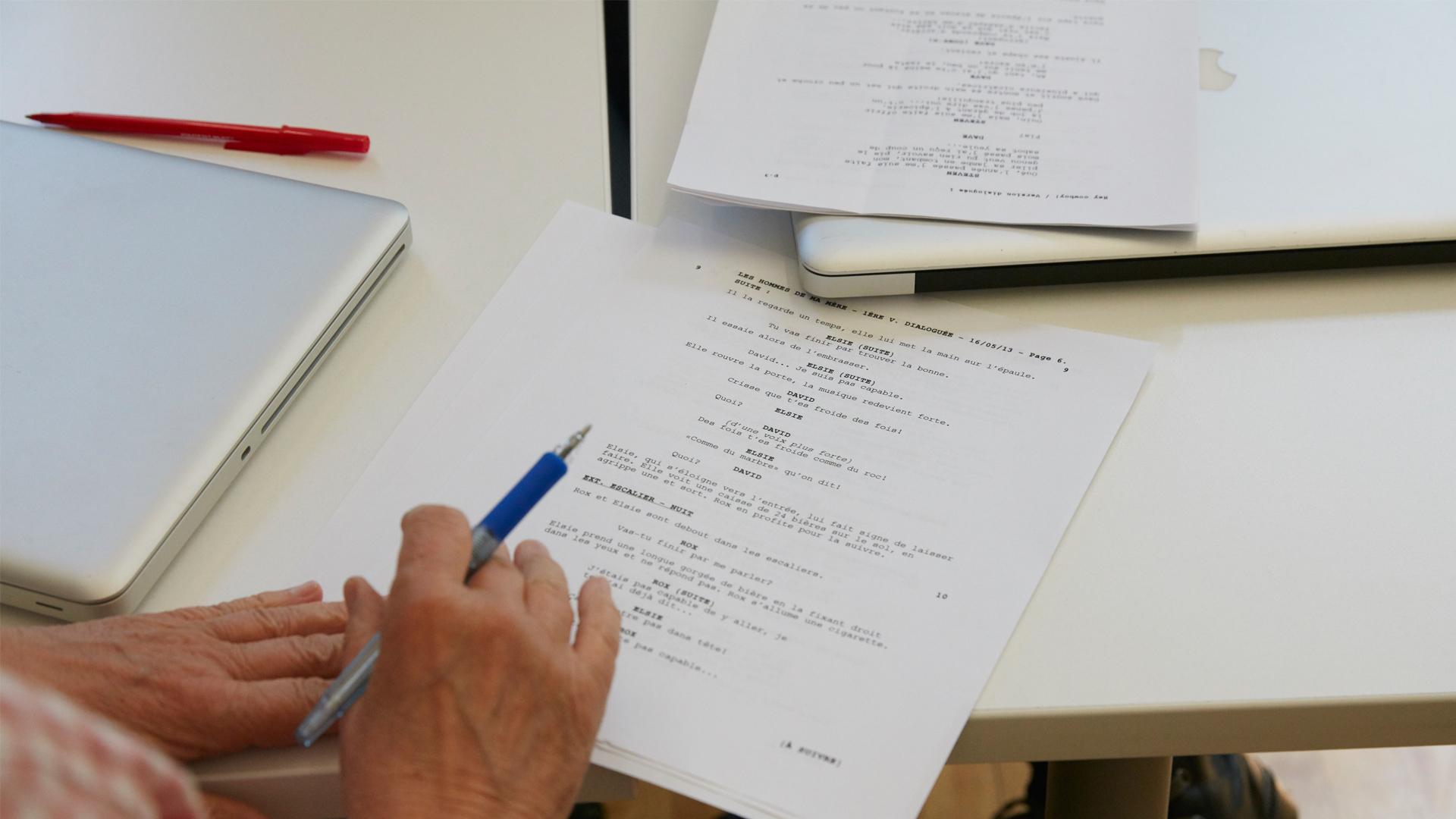 Élément clefs d'une série fiction - Document de présentation et pitch